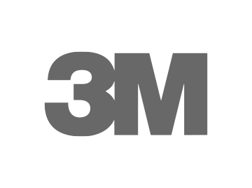 Logo 3M gris