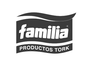 Logo familia gris